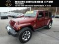 Jeep Wrangler Unlimited Sahara 4x4 Red Rock Crystal Pearl photo #1
