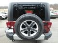 Jeep Wrangler Unlimited Sahara 4x4 Red Rock Crystal Pearl photo #4