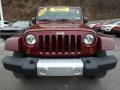 Jeep Wrangler Unlimited Sahara 4x4 Red Rock Crystal Pearl photo #9