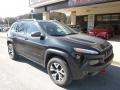 Jeep Cherokee Trailhawk 4x4 Brilliant Black Crystal Pearl photo #3