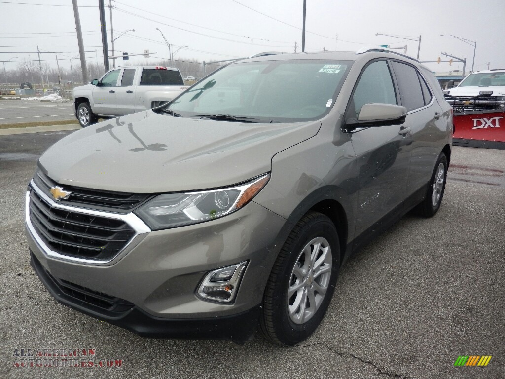 2018 Equinox LT - Pepperdust Metallic / Jet Black photo #1