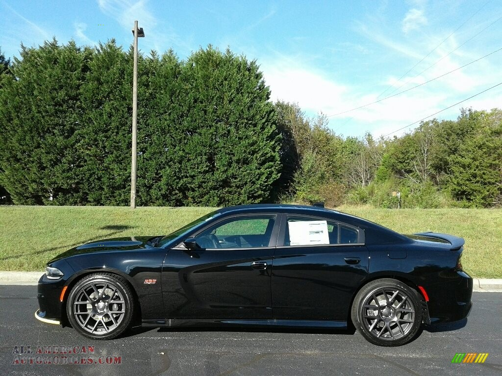 2018 Charger R/T Scat Pack - Pitch Black / Black photo #1
