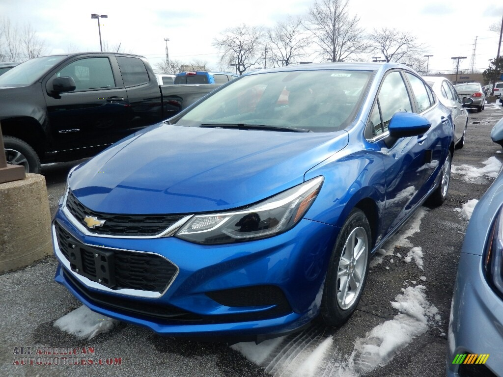 2018 Cruze LT - Kinetic Blue Metallic / Jet Black photo #1