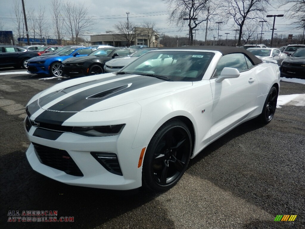 2018 Chevrolet Camaro Ss Convertible In Summit White For