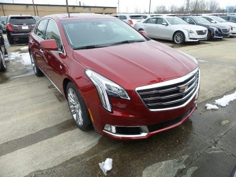 Red Horizon Tintcoat 2018 Cadillac XTS Luxury AWD