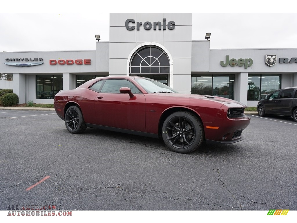 2018 Challenger R/T - Octane Red Pearl / Black photo #1