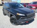 Jeep Cherokee Trailhawk 4x4 Diamond Black Crystal Pearl photo #4