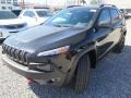 Jeep Cherokee Trailhawk 4x4 Diamond Black Crystal Pearl photo #6
