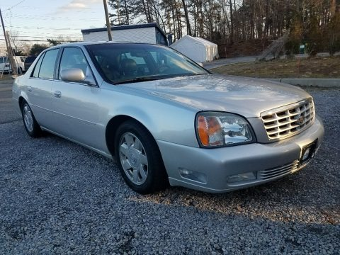 Sterling Metallic 2002 Cadillac DeVille DTS