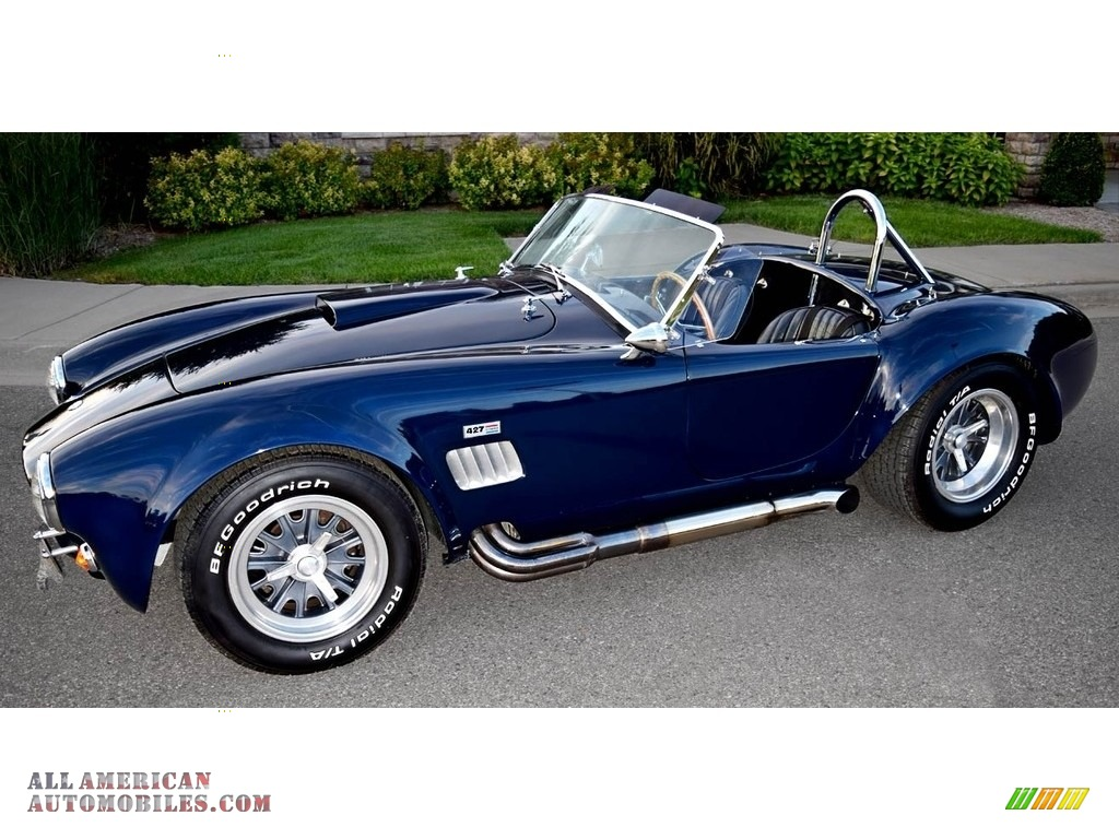 1966 ERA Replica 427SC Cobra - Nightwatch Blue / Black photo #1
