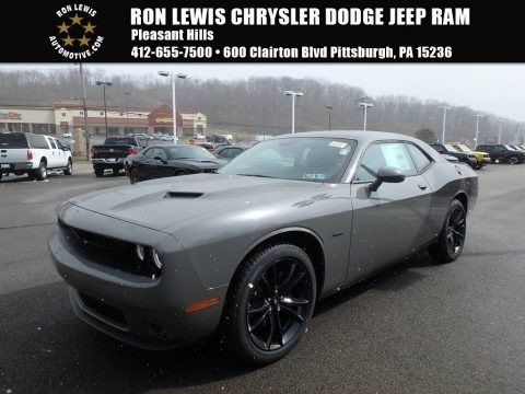 Destroyer Gray 2018 Dodge Challenger R/T