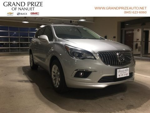 Galaxy Silver Metallic 2018 Buick Envision Essence AWD