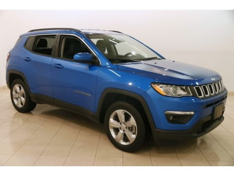 Laser Blue Pearl 2017 Jeep Compass Latitude 4x4