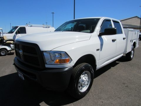 Bright White 2012 Dodge Ram 2500 HD ST Crew Cab 4x4