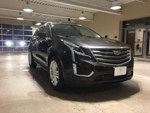 Dark Granite Metallic 2018 Cadillac XT5 Premium Luxury AWD