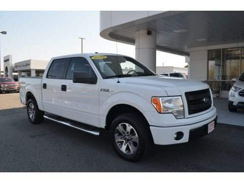 Oxford White 2014 Ford F150 STX SuperCrew