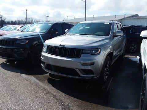 Billet Silver Metallic 2018 Jeep Grand Cherokee Overland 4x4