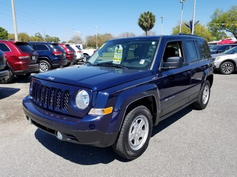 True Blue Pearl 2016 Jeep Patriot Sport