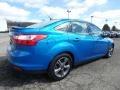 Ford Focus SE Sedan Blue Candy photo #9