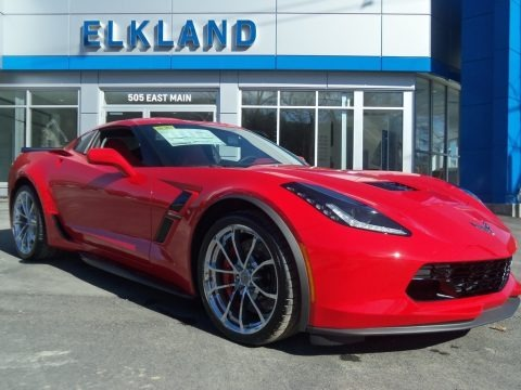 Torch Red 2019 Chevrolet Corvette Grand Sport Coupe
