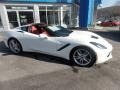 Chevrolet Corvette Stingray Coupe Arctic White photo #3