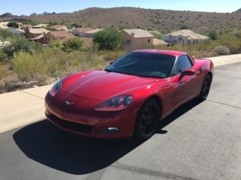 Magnetic Red Metallic 2005 Chevrolet Corvette Coupe
