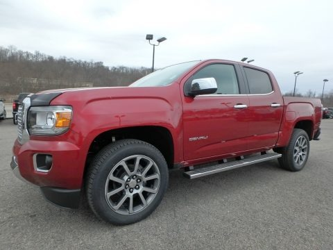Red Quartz Tintcoat 2018 GMC Canyon Denali Crew Cab 4x4