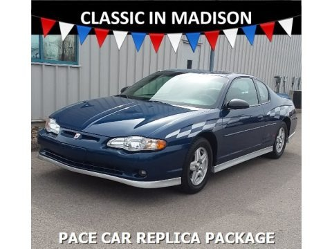 Superior Blue Metallic 2003 Chevrolet Monte Carlo SS