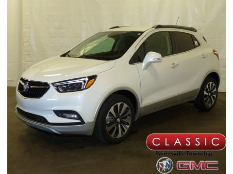 White Frost Tricoat 2018 Buick Encore Essence