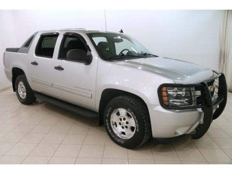 Sheer Silver Metallic 2010 Chevrolet Avalanche LS 4x4