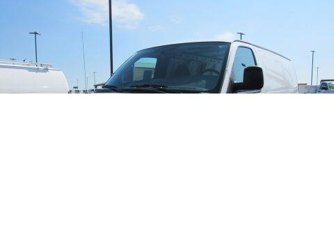 Summit White 2014 Chevrolet Express 1500 Cargo WT