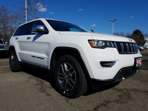 Bright White 2018 Jeep Grand Cherokee Limited 4x4