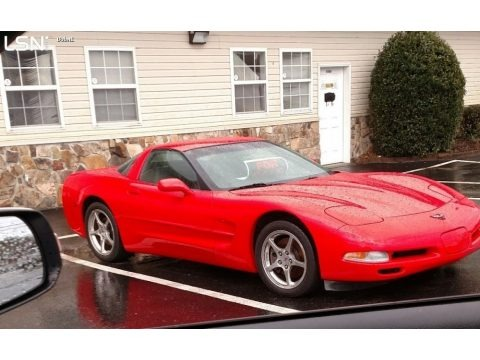 Torch Red 2004 Chevrolet Corvette Coupe
