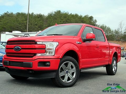 Race Red 2018 Ford F150 Lariat SuperCrew 4x4