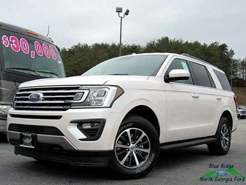 White Platinum 2018 Ford Expedition XLT 4x4