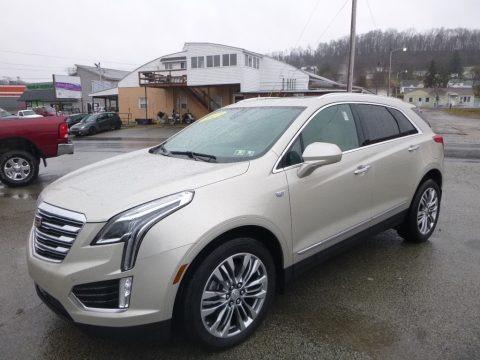 Silver Coast Metallic 2017 Cadillac XT5 Premium Luxury AWD