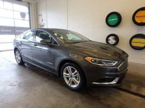 Magnetic 2018 Ford Fusion Hybrid SE