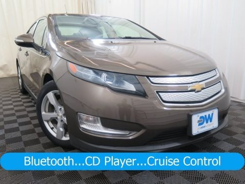 Brownstone Metallic 2014 Chevrolet Volt
