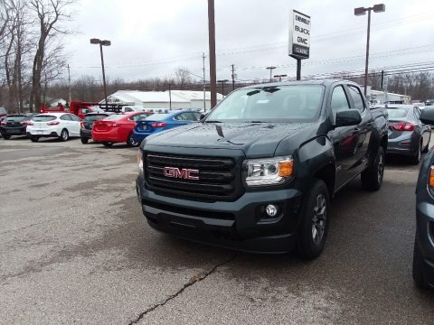 Dark Slate Metallic 2018 GMC Canyon All Terrain Crew Cab 4x4