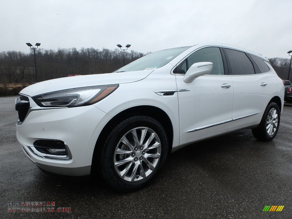 White Frost Tricoat / Dark Galvanized Buick Enclave Premium AWD