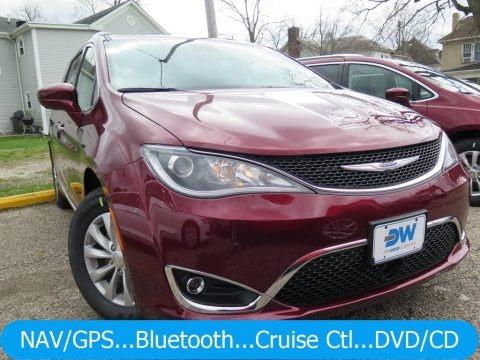 Velvet Red Pearl 2018 Chrysler Pacifica Touring L Plus