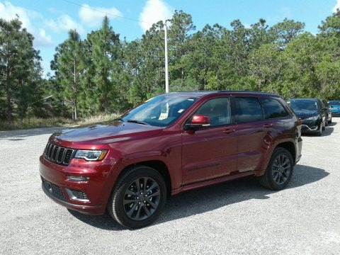 Velvet Red Pearl 2018 Jeep Grand Cherokee High Altitude