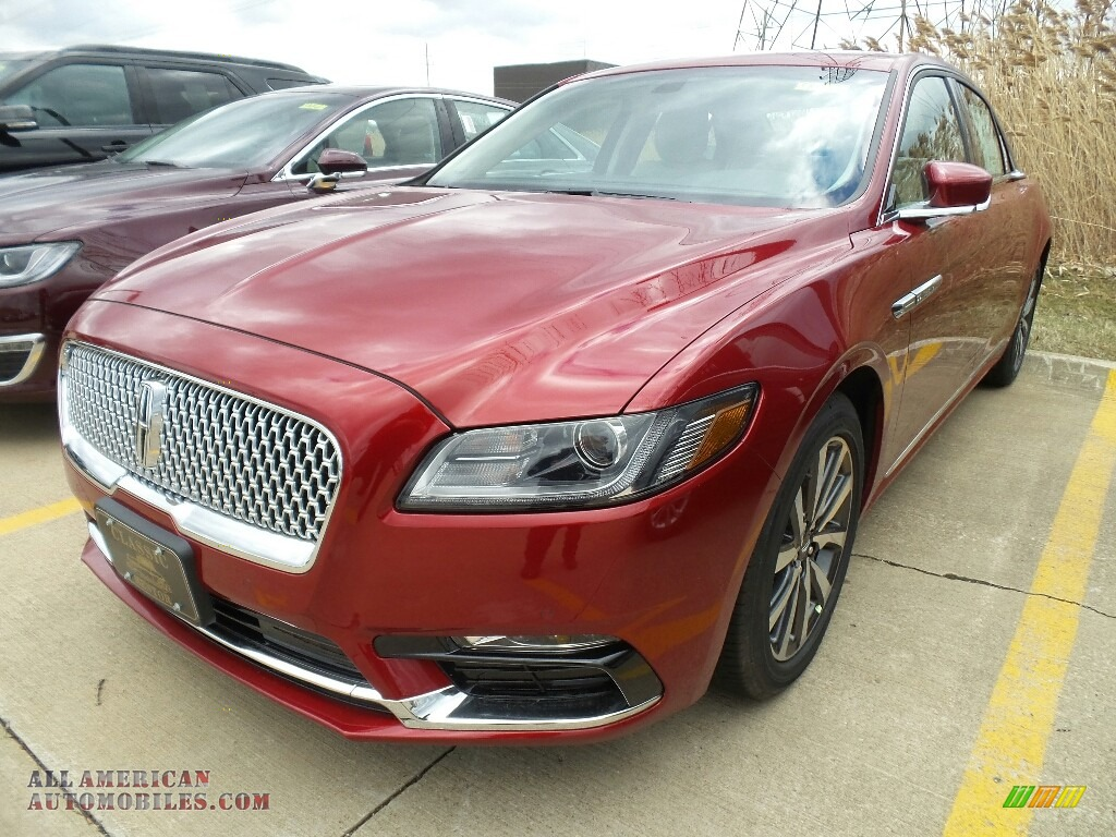 2018 Continental Premiere - Ruby Red / Cappuccino photo #1