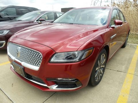 Ruby Red 2018 Lincoln Continental Premiere