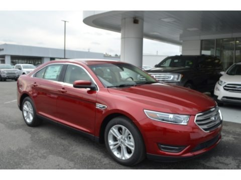 Ruby Red 2018 Ford Taurus SEL