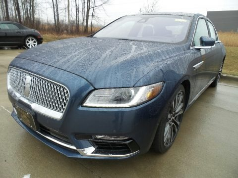 Blue Diamond 2018 Lincoln Continental Reserve AWD