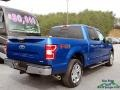 Ford F150 XLT SuperCrew 4x4 Lightning Blue photo #5