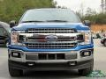 Ford F150 XLT SuperCrew 4x4 Lightning Blue photo #9