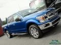 Ford F150 XLT SuperCrew 4x4 Lightning Blue photo #32
