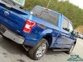 Ford F150 XLT SuperCrew 4x4 Lightning Blue photo #33